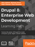 Книга «Drupal 8: Enterprise Web Development»