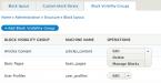 Drupal – Block Visibility Groups