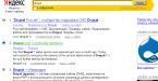 Drupal – External Search