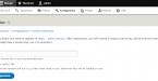 Drupal – Setka Editor - WYSIWYG post builder