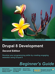 Книга «Drupal 8 Development: Beginner's Guide»