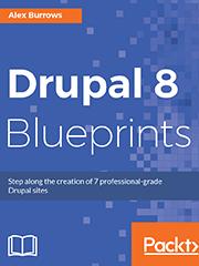 Книга «Drupal 8 Blueprints»