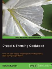 Книга «Drupal 6 Theming Cookbook»