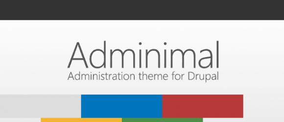 Drupal – Adminimal - Responsive Administration Theme