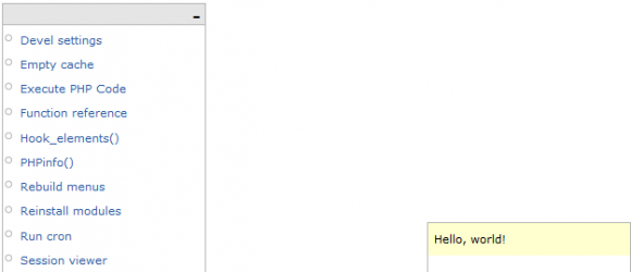Drupal – Application Toolbar (Appbar)