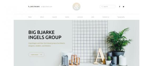Drupal – Architecture Corporate Profile