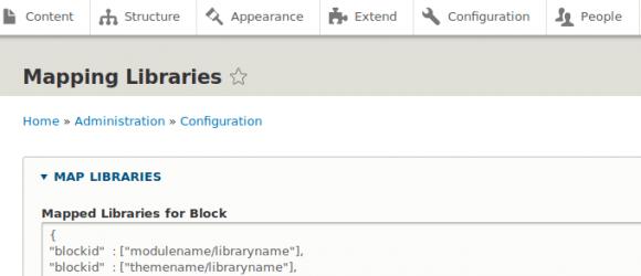 Drupal – Attach Libraries