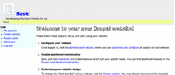 Drupal – Basic
