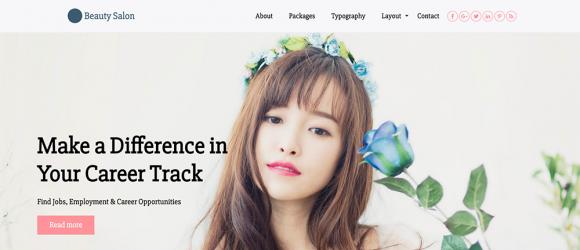 Drupal – Beauty Salon Zymphones Theme