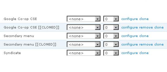 Drupal – Block Clone