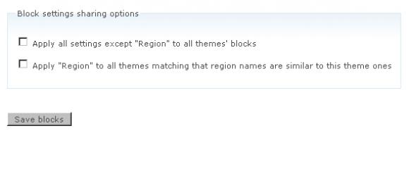Drupal – Block Region