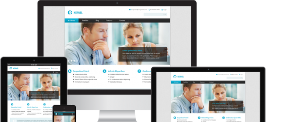Drupal – Clean Corporate Theme