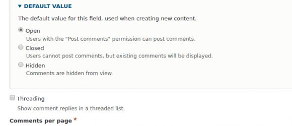 Drupal – Comments ajax pager