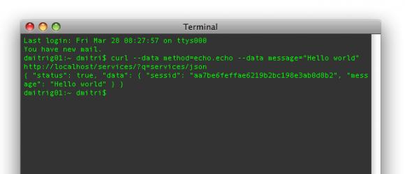 Drupal – JSON server