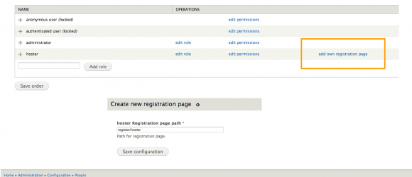 Drupal – Multiple Registration