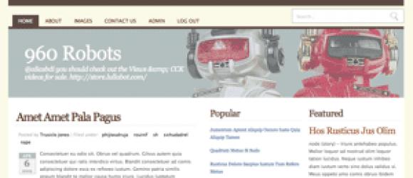 Drupal – 960 Robots