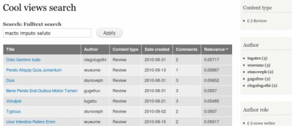 Drupal – Search API