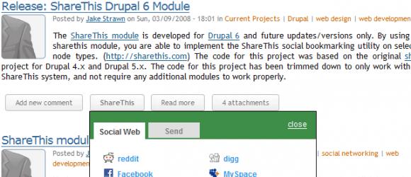 Drupal – ShareThis