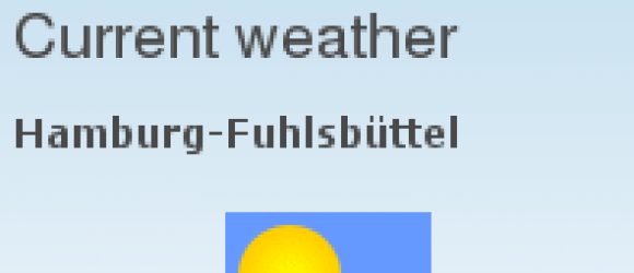 Drupal – Weather